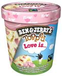 B&J 438ml Topped Love is...