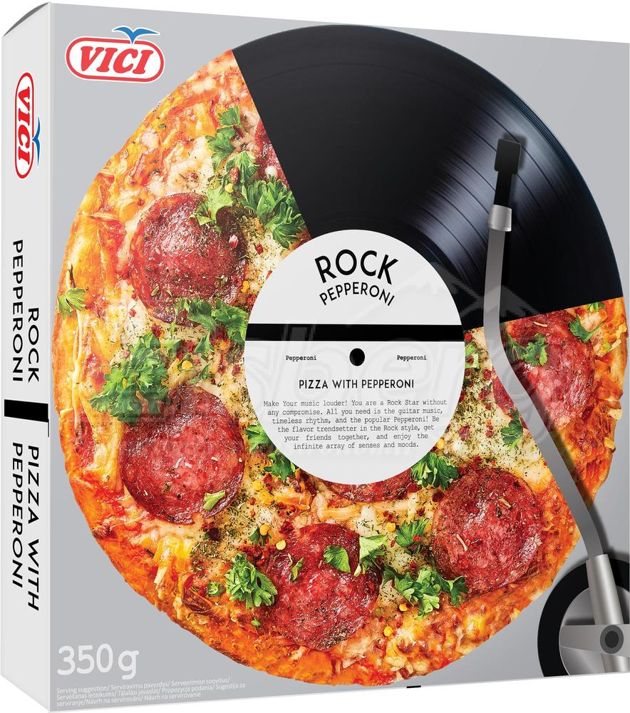 "Pizza  ""Rock Pepperoni""  VICI"