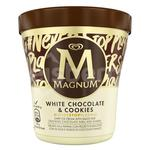 Magnum Pinty White Chocolate cookies